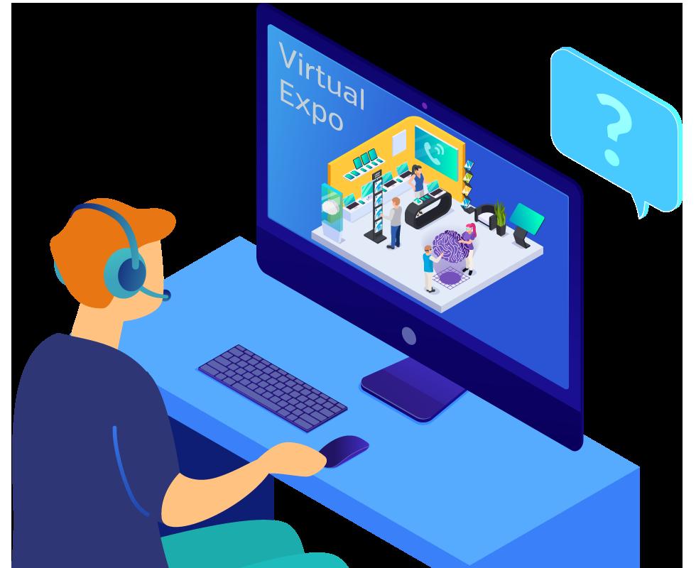Virtual Expo and Virtual Trade Shows Microsite